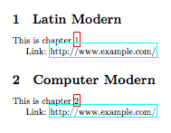 LaTeX package conflicts - Exterior Memory